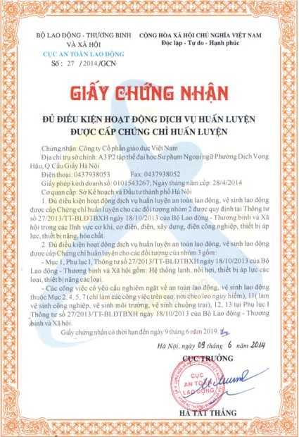 giấy phép đủ điều kiện huấn luyện an toàn lao động (1)